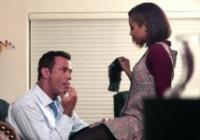 Ebony perversa chiavata in ufficio